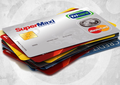 Design do Cartão Tricard MasterCard Super Maxi.