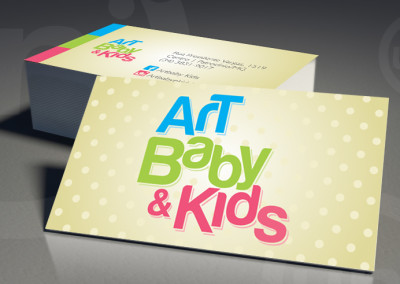 Identidade Visual Art Baby & Kids