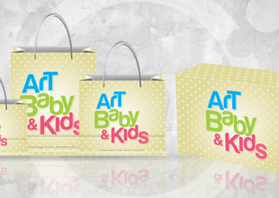 Sacolas Art Baby & Kids